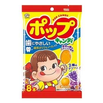Леденцы на палочке Pop Candy Fujiya. 8шт