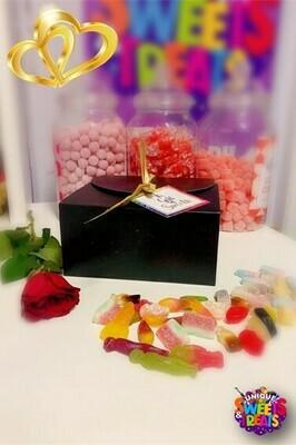 Matt Black Valentines Gift Box