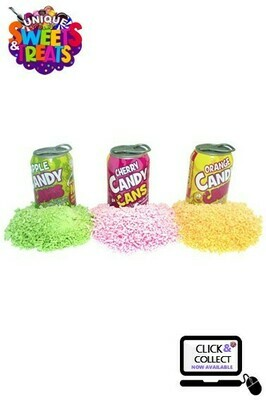 Crazy Candy Factory Sherbet Candy Cans