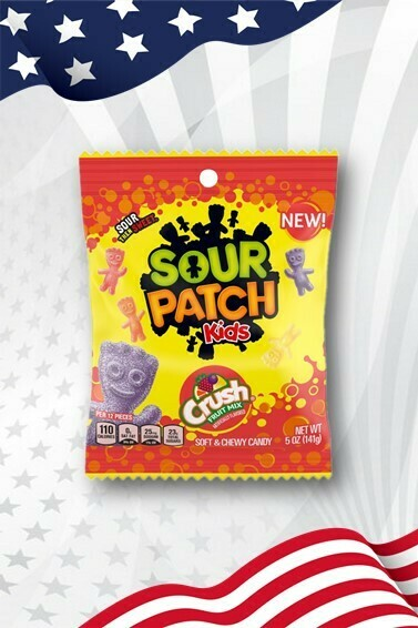 Sour Patch Kids Crush Fruit Mix - 5oz (141g)