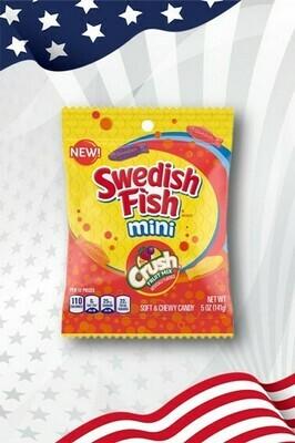 Swedish Fish Mini Crush Fruit Mix - 5oz (141g)