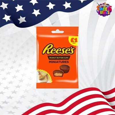 Reese's Peanut Butter Cups Miniatures Bag