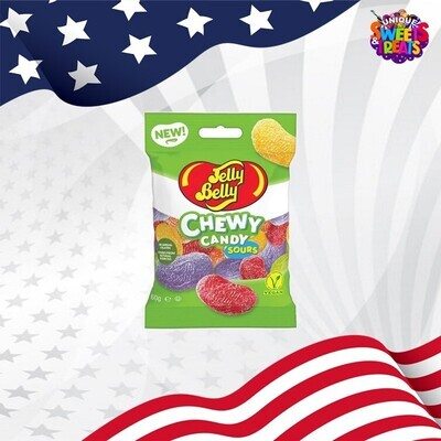 Jelly Belly Chewy Candy Sours 60g