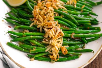 Green Beans Almandine