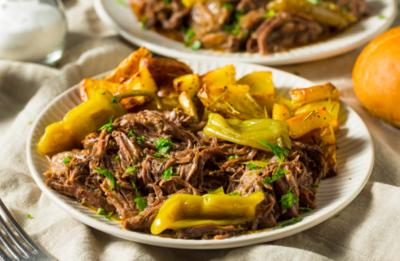 MISSISSIPPI POT ROAST FAMILY MEAL