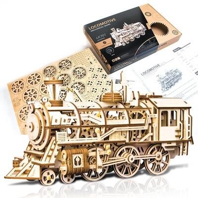 Locomotive DIY Train Puzzle