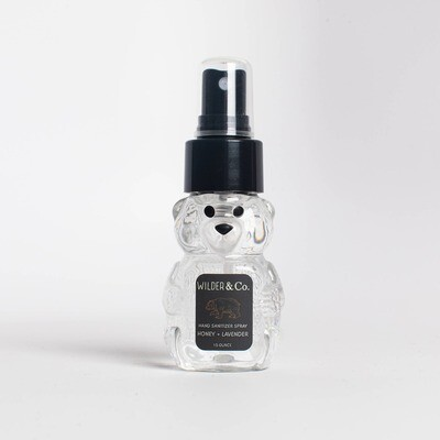 Honey Bear Hand Sanitizer Spray Honey + Lavender