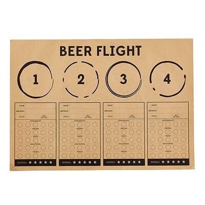 Beer Flight Placemats - 24 Pieces