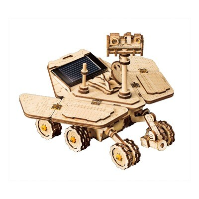 Solar Powered Vagabond Rover DIY Puzzle