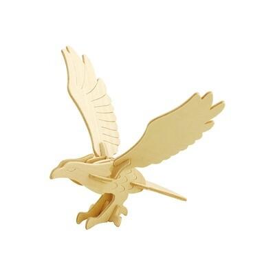 JP149, 3D Wooden Puzzle: Eagle