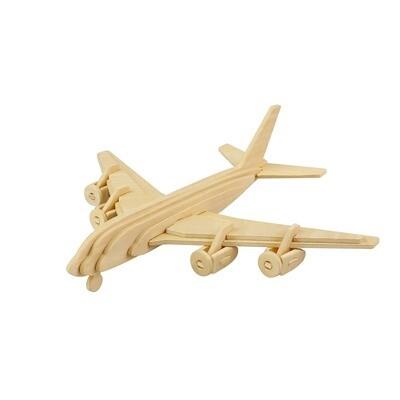 JP270, 3D Wooden Puzzle: Civil Airplane