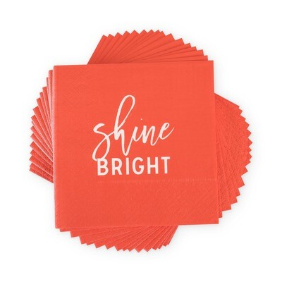 Shine Bright Cocktail Napkin