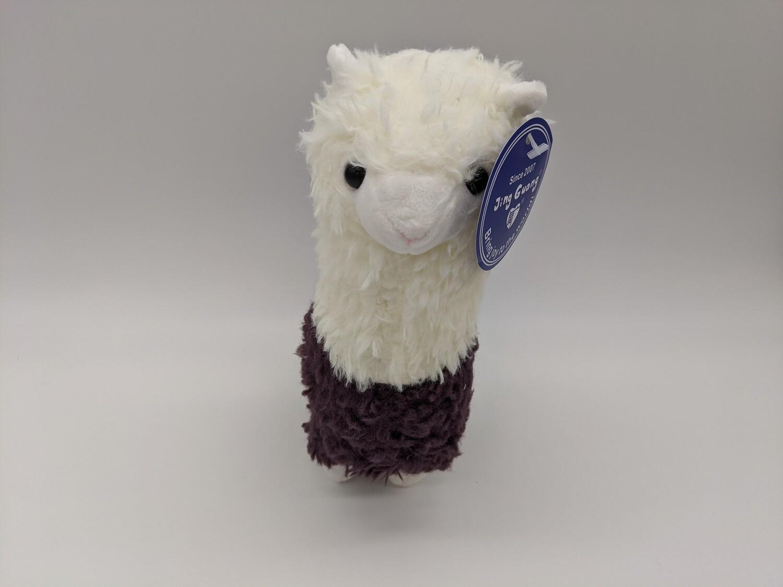Alpaca Stuffie Purple