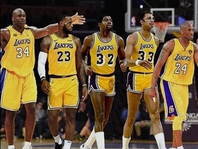 The All Laker Team