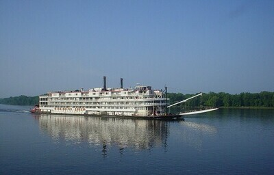 Riverboat On The Mississippi -11