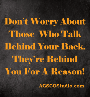 Talking Behind Your Back - 30