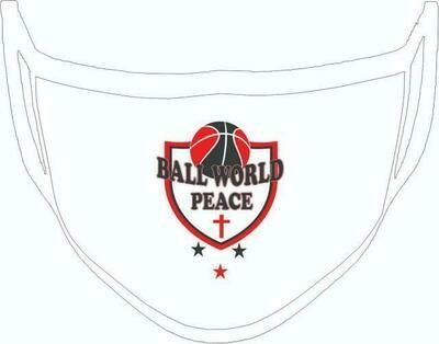 Ball World Peace Custom White Masks