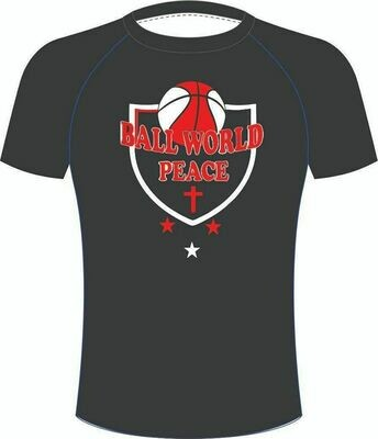Ball World Peace Black Tee
