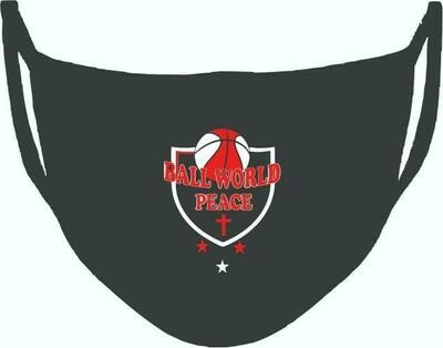 Ball World Peace Custom Black Mask