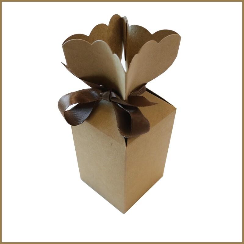 Flower Box - Brown