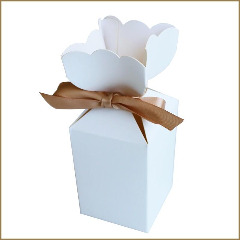 Flower Box - White