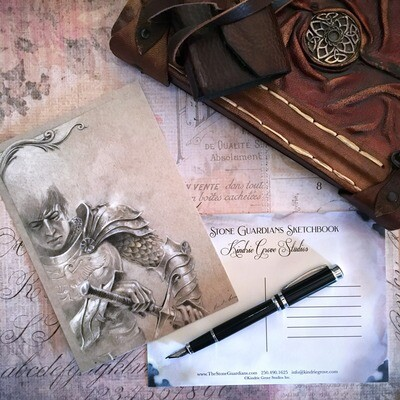 Study for Torrin, Postcard Print
