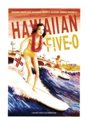 Hawaiian 5-0 ~ 50cm x 70cm print