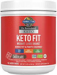 Garden of Life Keto Fit Weight Loss Shake
