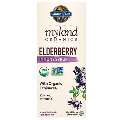 Garden of Life mykind Elderberry Syrup