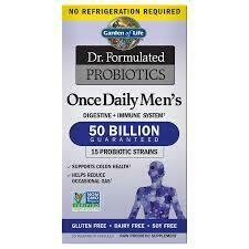 Garden of Life Probiotics Once Daily Men's