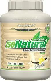 Allmax IsoNatural Protein Vanilla