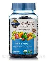 Garden of Life mykind Men's Multi Gummie