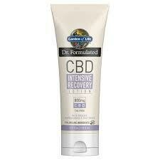 Garden of Life CBD Intensive Recovery Lotion 800mg
