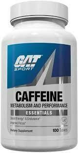 GAT Caffeine 100 tablets