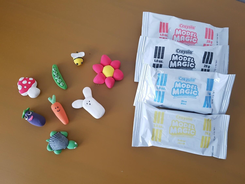 Model Magic Clay Magnet Set