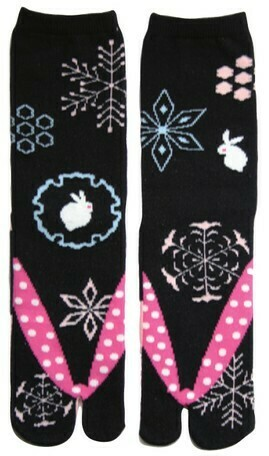 TABI SOCKS SNOW RING 23-25CM