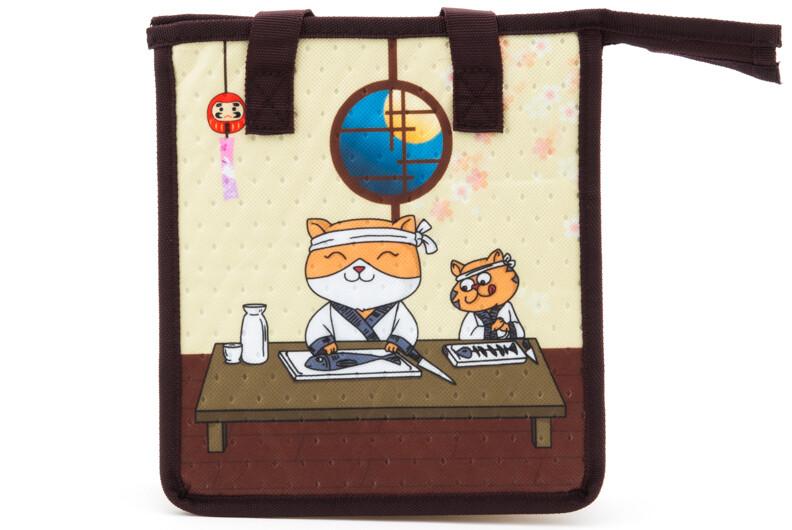 INSUL BAG (M) SUSHI CAT JB11-SC