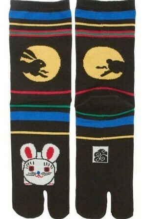 TABI SOCK RABBIT MOON VIEW