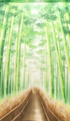 JAPANESE NOREN CURTAIN BB FOREST