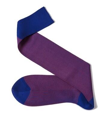 Chaussettes Birdseye Bleu/Rouge