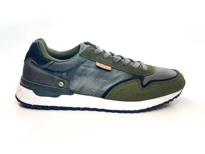 Sneakers Verts et Gris