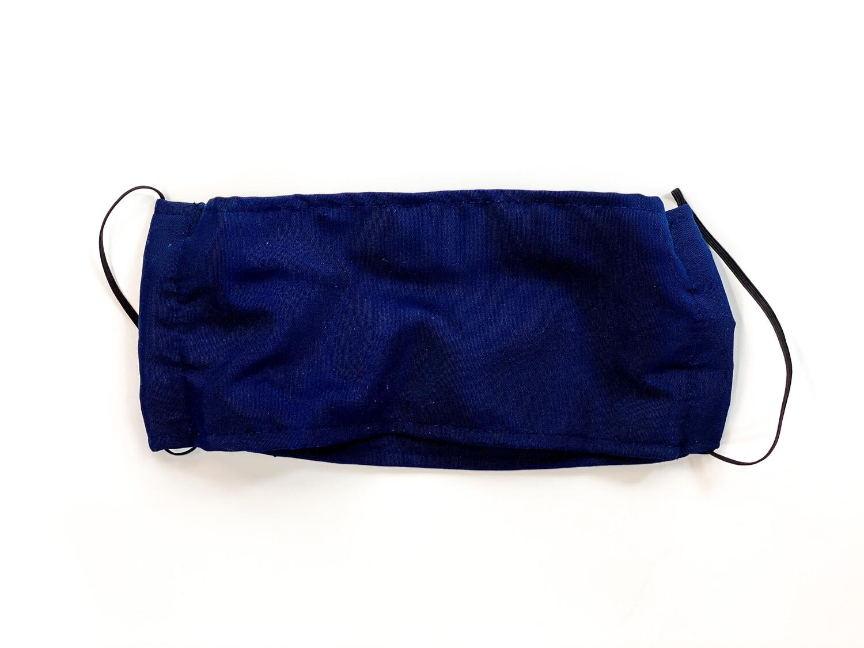 Masque Uni Bleu Marin