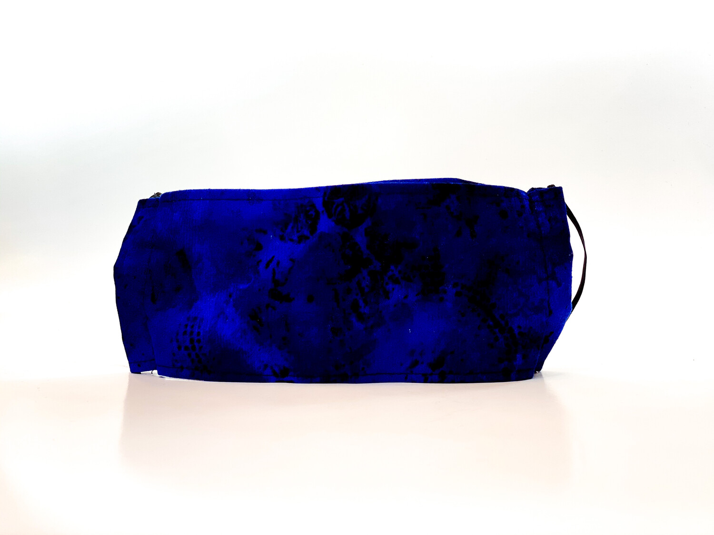 Masque Motif Bleu 2 tons