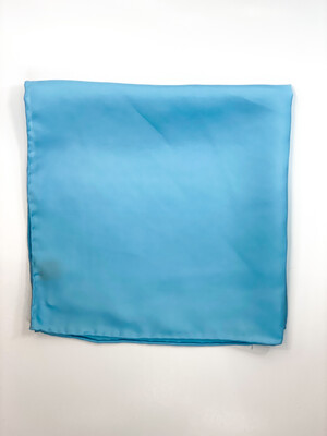 Mouchoir 100% Soie Bleu Ciel