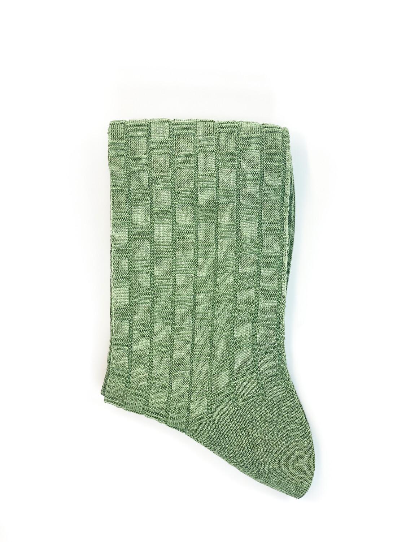 Chaussettes Texturées Vert