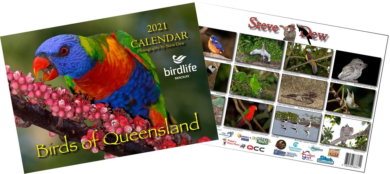 2021 Birdlife Mackay Calendar