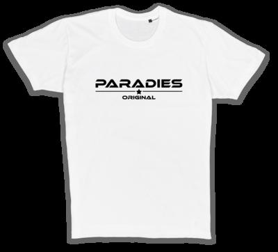 Organic T-Shirt in weiß/schwarz