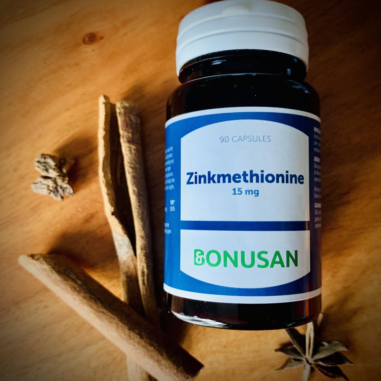 Zinkmethionine 15 mg capsules