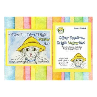 Oliver Poons Learning Bundle - Child Learning Activity - Workbook - Preschool - Kindergarten - First Grade - Second Grade - Homeschool