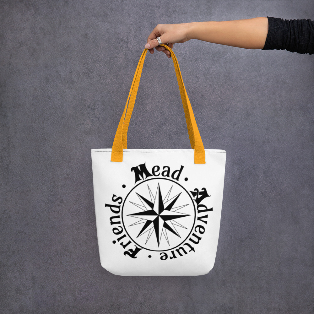 S&F Adventure Tote bag - White